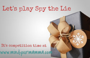 Competition time – let's play Spy the Lie [019]