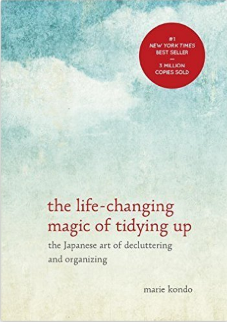 tidy up your life Marie Kondo
