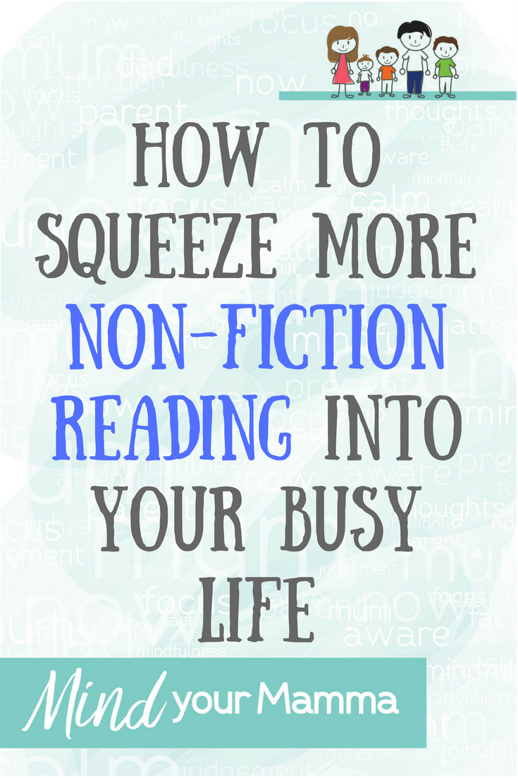 How to squeeze more non-fiction reading into your busy life