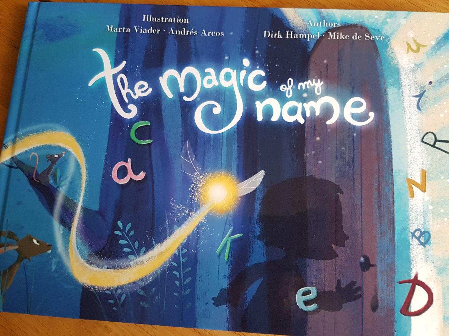 A unique and personalised book for your child – The Magic of my Name