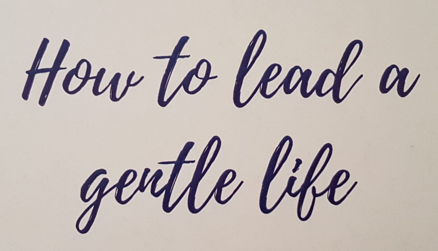 How to Lead a Gentle Life – a group coaching course with Emily Hodge