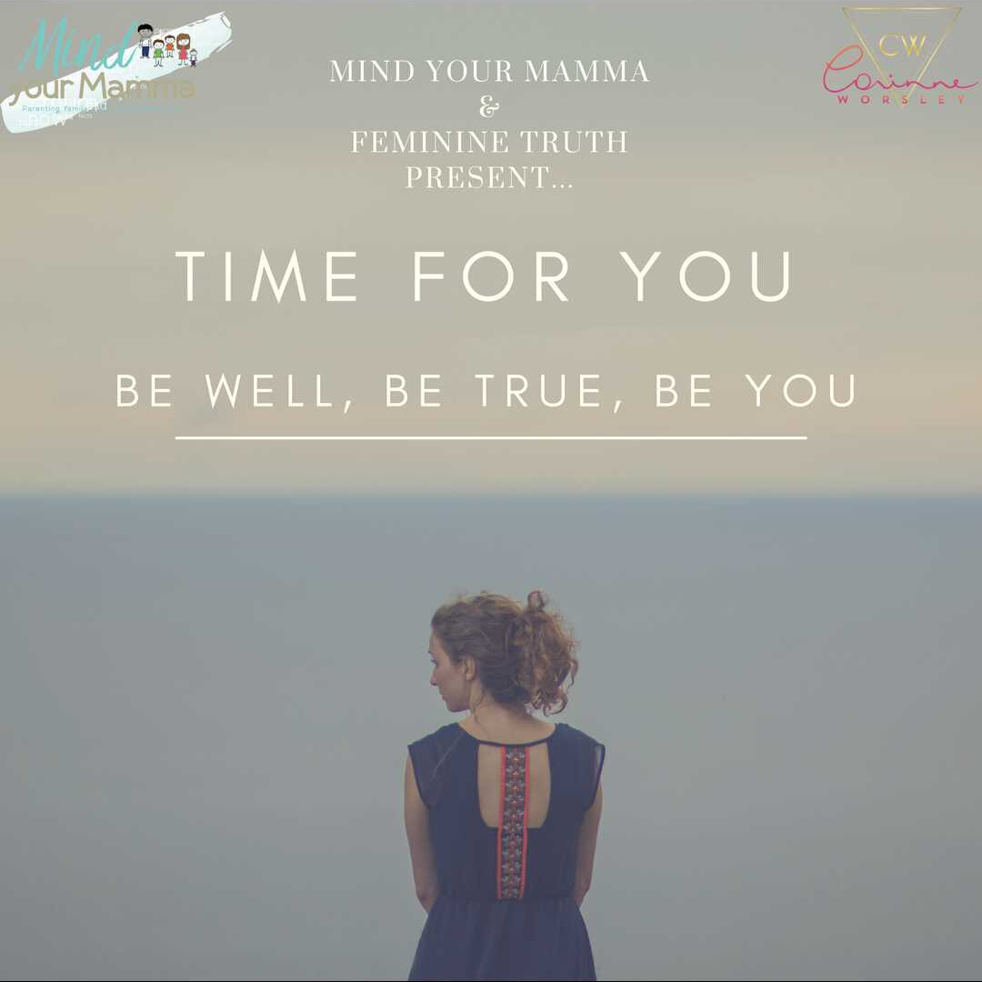 time for you self-care event Mind your Mamma 1st October 2017 London