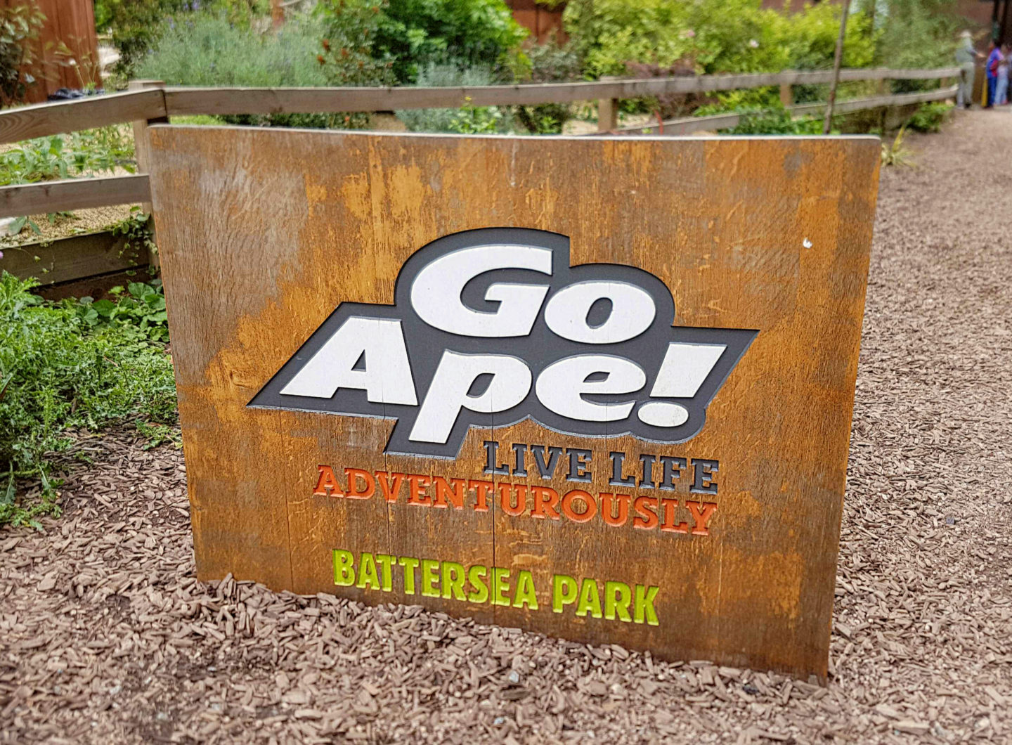 treetop adventure go ape battersea park Mind your Mamma