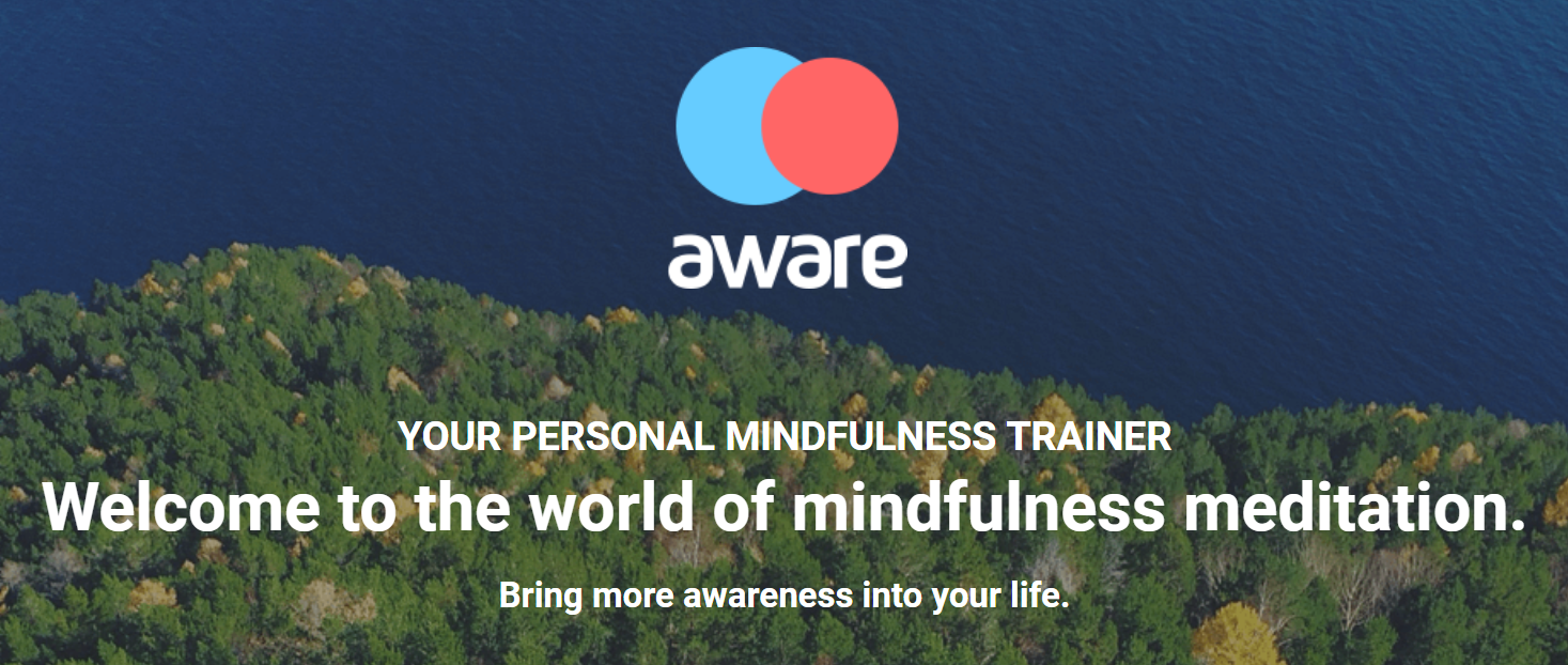 A review of the Aware meditation app – download it now!